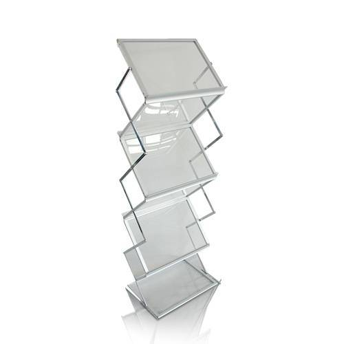 POS Retail Acrylic Floor Display Stand