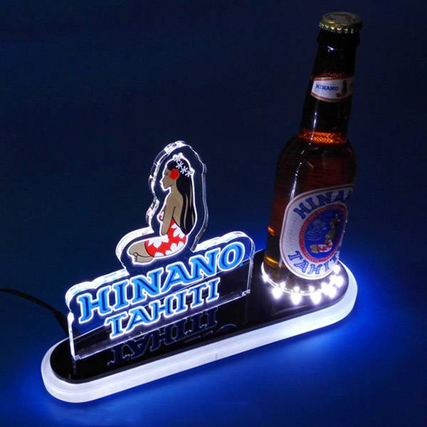 LED Light Illuminated Display Stand