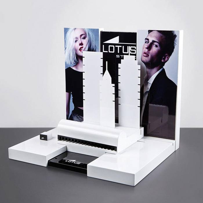 POSM Retail Acrylic Jewelry Display Stand