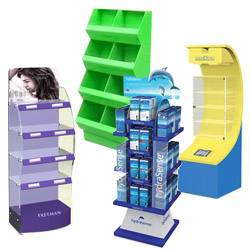 retail acrylic floor display stands