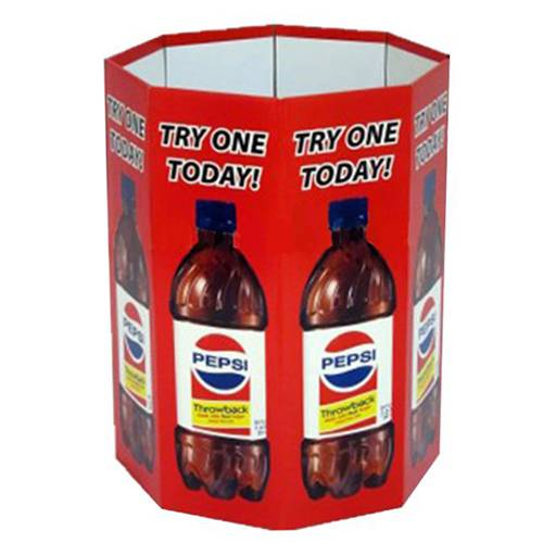 Custom Retail Corrugated Cardboard Dump Bin Display