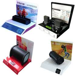Retail POP Counter Speaker Display