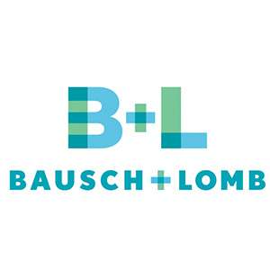 Bausch + Lomb POS Retail Wooden Display Stand