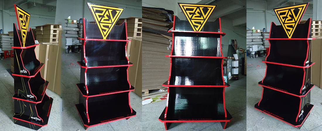 Gamdias Keyboard Retail POS Product Display Stands