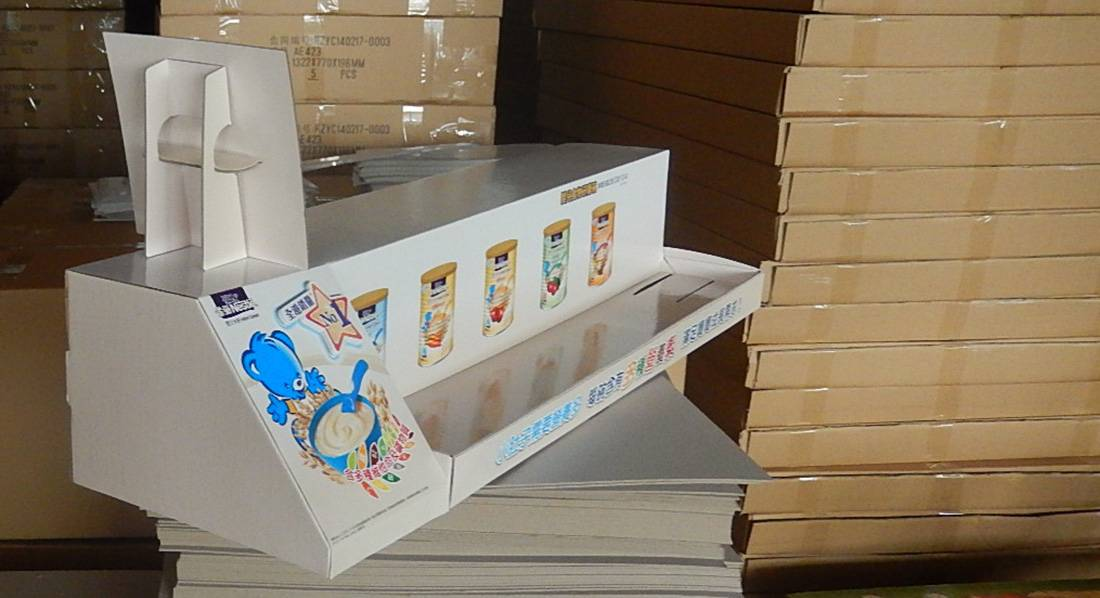 Nestlé Milk Powder POS Retail Display Stand