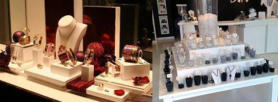 POS Retail Acrylic Jewelry Display Solutions