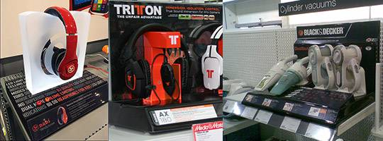 POS Retail Headphone Display Stand Solutions