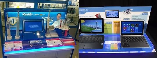 POS Retail Illuminated Display Solutions
