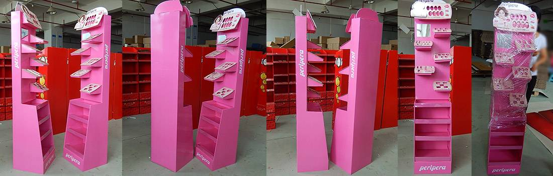PeriPera Lip Tint Retail Floor Display Stand