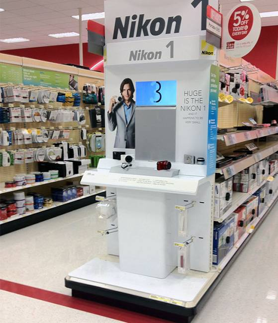Wooden POS Retail Display Solutions