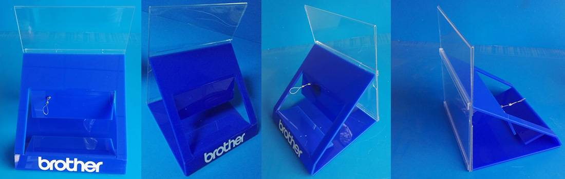 Brother Label Maker POS Counter Retail Display Solutions