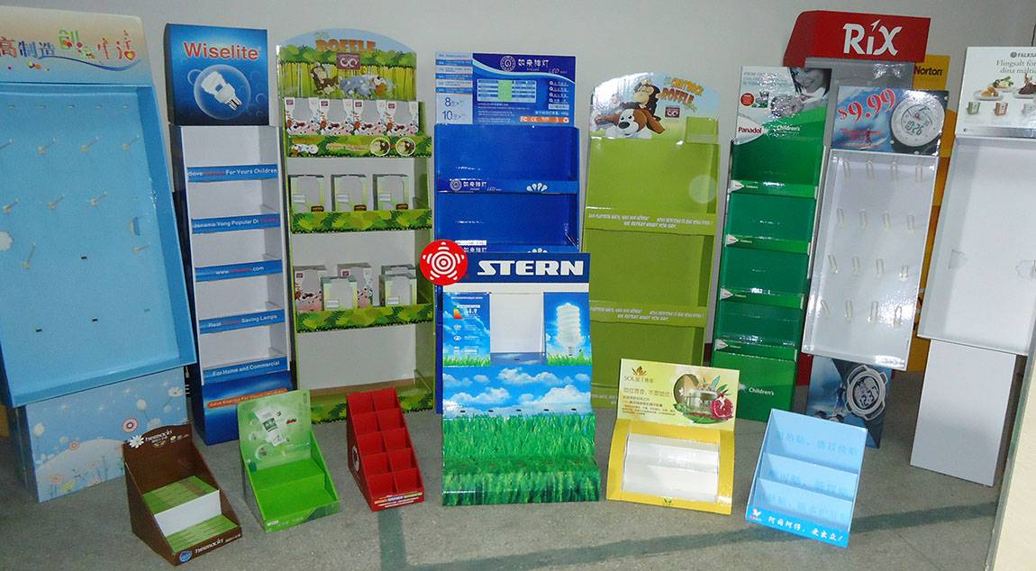 corrugated Displays for promoting your product