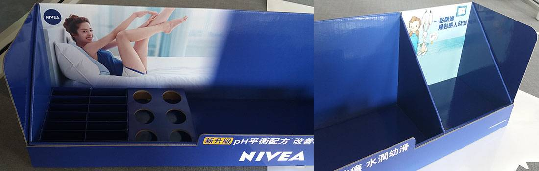 Nivea Retail Display Stands