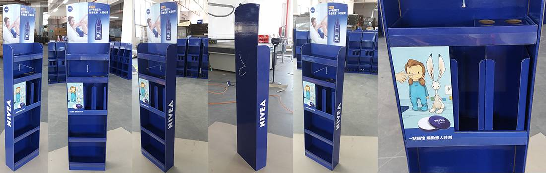 Nivea Point of Sale Floor Displays