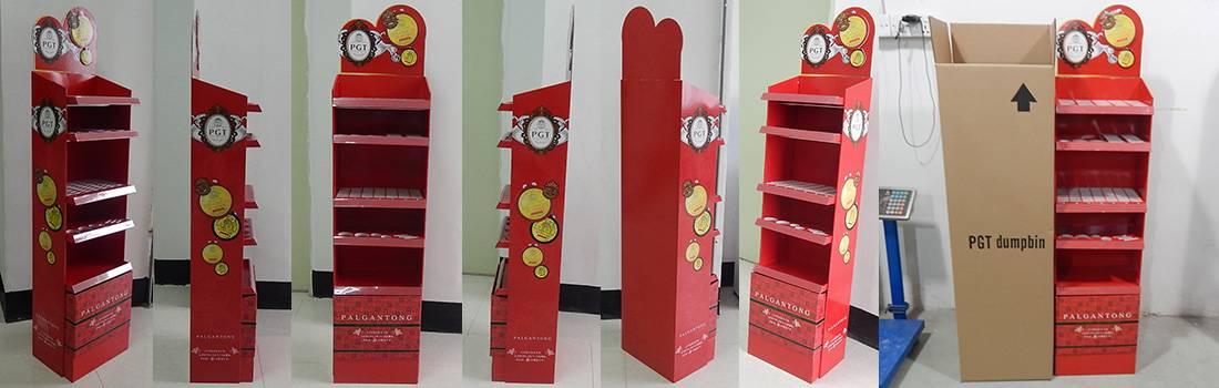 Palgantong Cosmetics POS Retail Product Display Stand