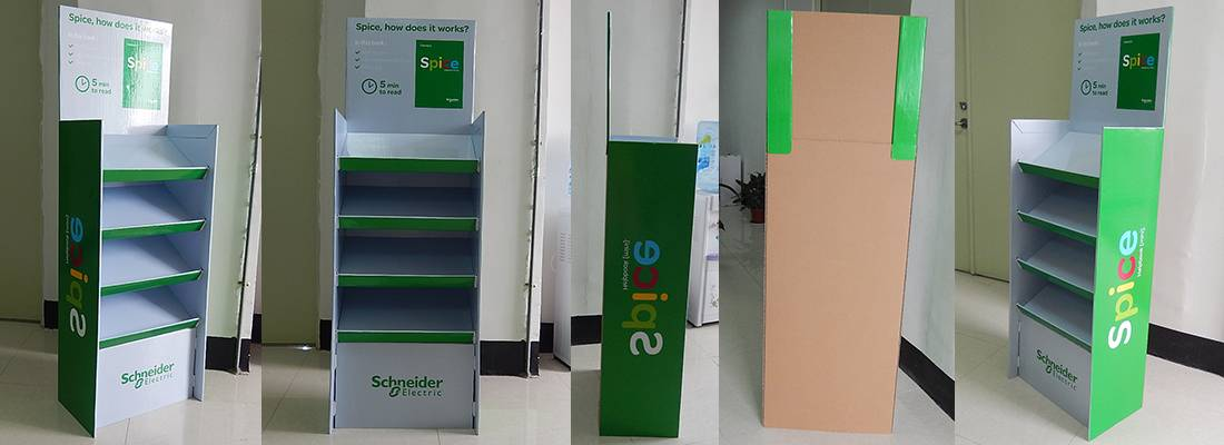 Schneider Electric POS Retail Display Fixtures