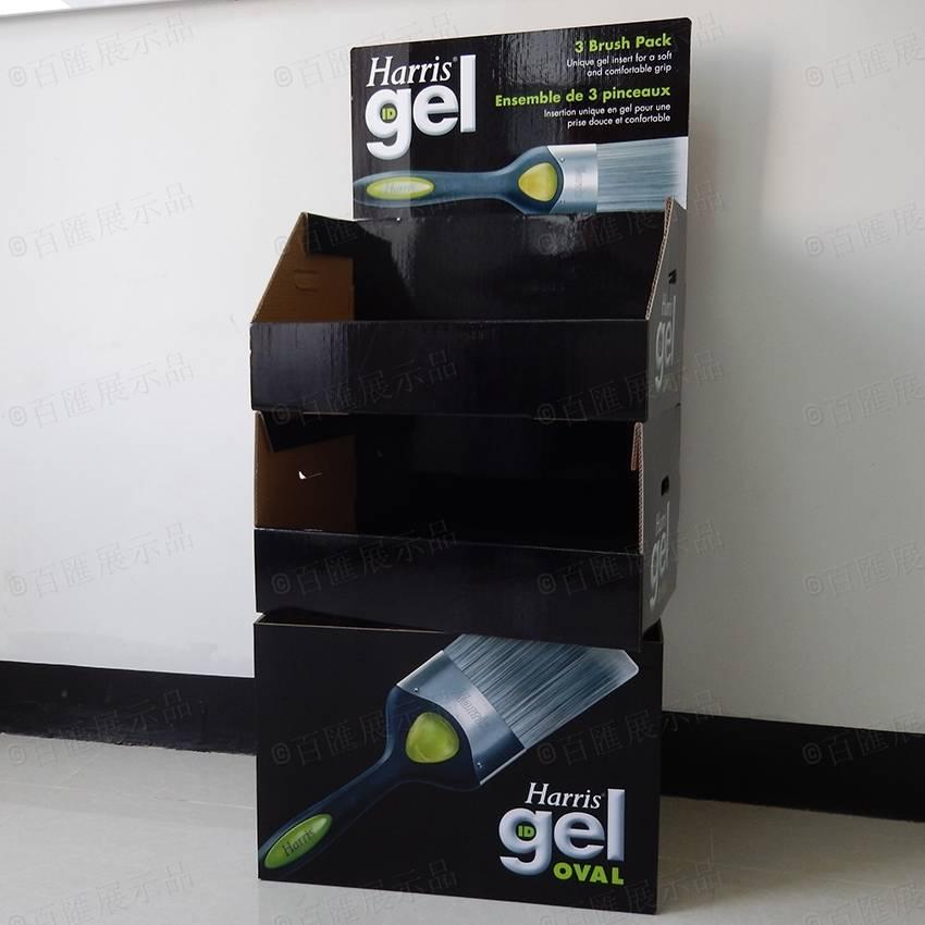 Harris ID Gel Oval Cardboard Product Display Stand