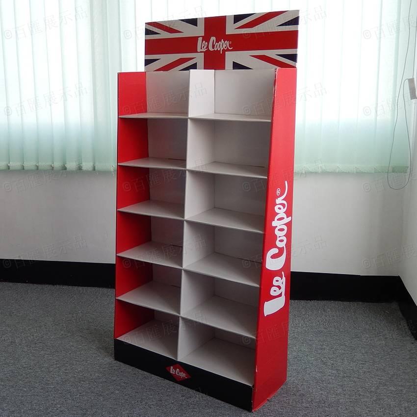 Lee Cooper Clothing Cardboard Display Stand