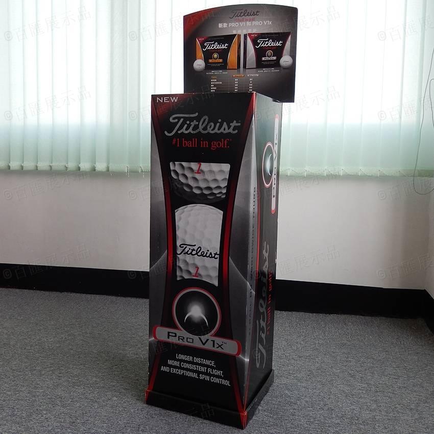 Golf Ball Retail POP Display Rack