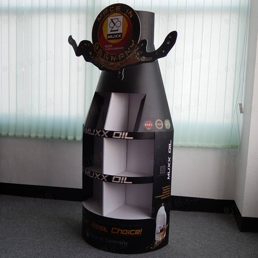 MUXX Oil Retail POP Product Display Stand