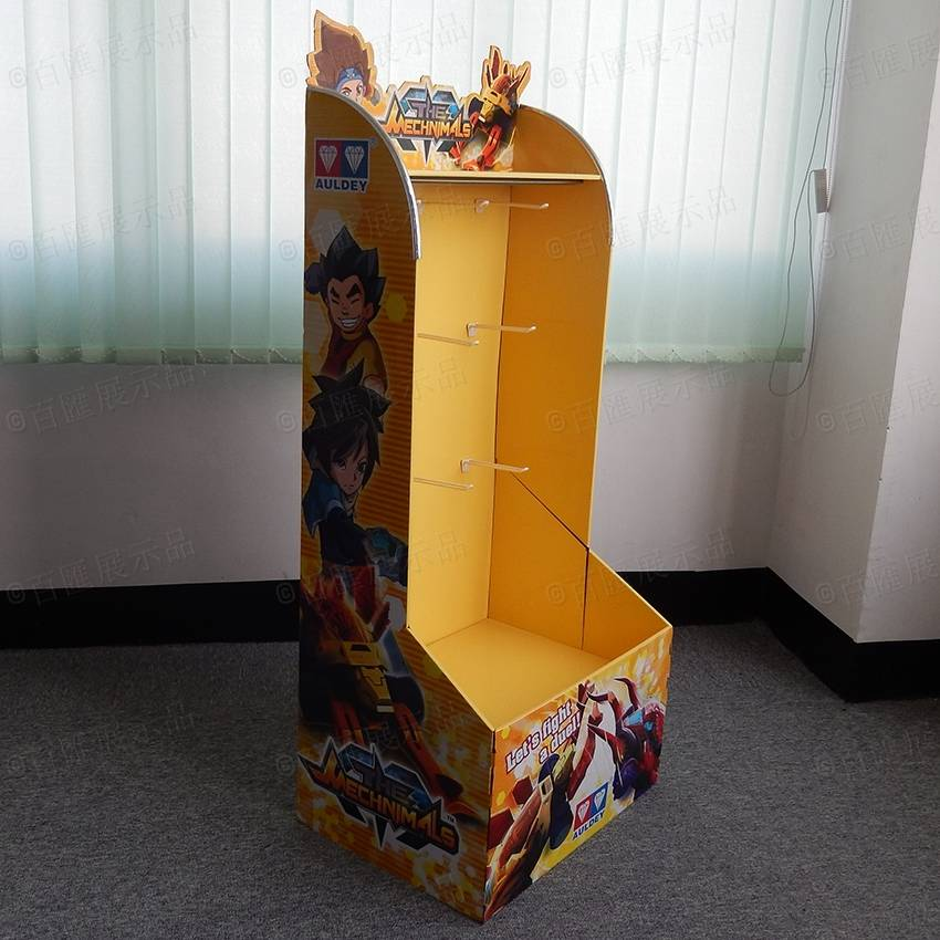 Toys Retail Cardboard POP Display Stand