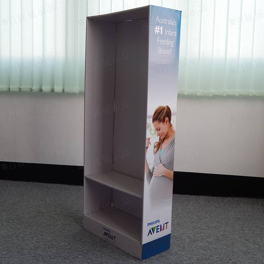 Philips Point of Sale Cardboard Display Stand