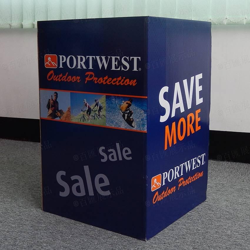 Portwest Cardboard Dump Bins Display Bin For Retail Display