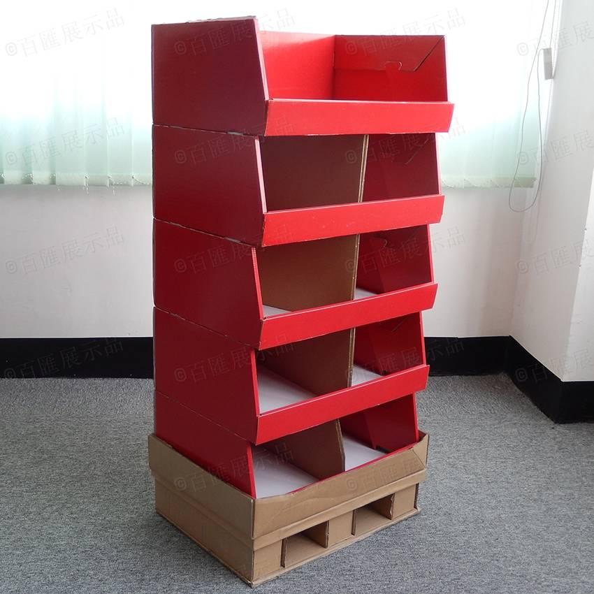 Cardboard Store Displays Dimensions Half Pallet