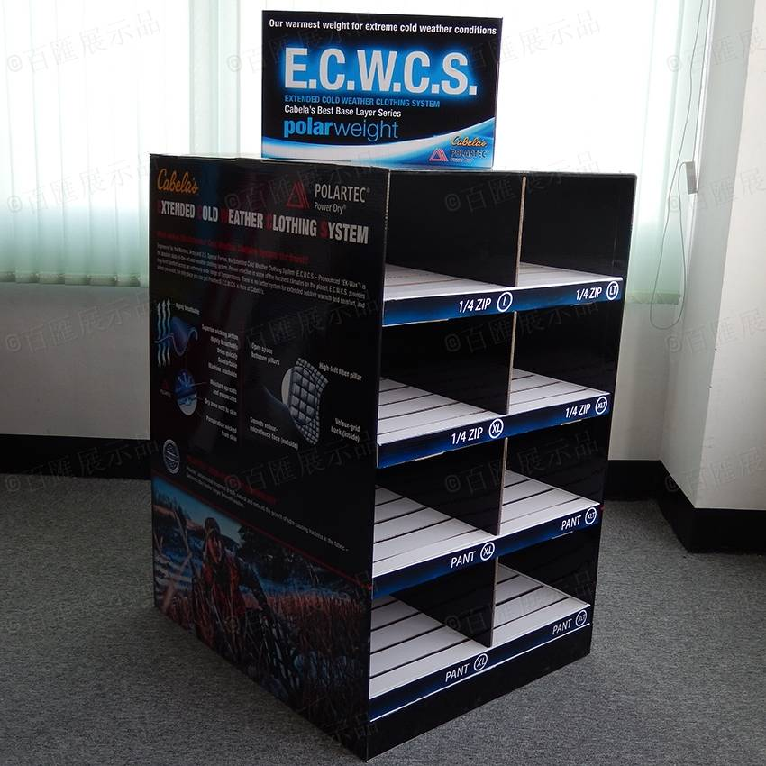 POP Cardboard Corrugated Full Pallet Display