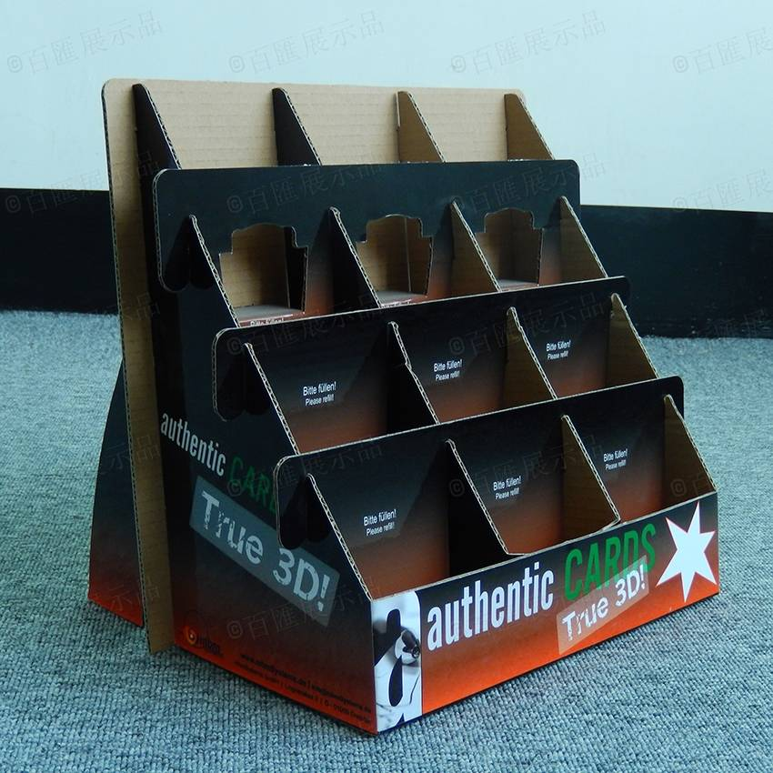 Recycled Cardboard PDQ Counter Display
