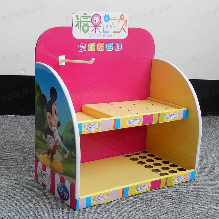 Cardboard Counter Display Stand for Candy