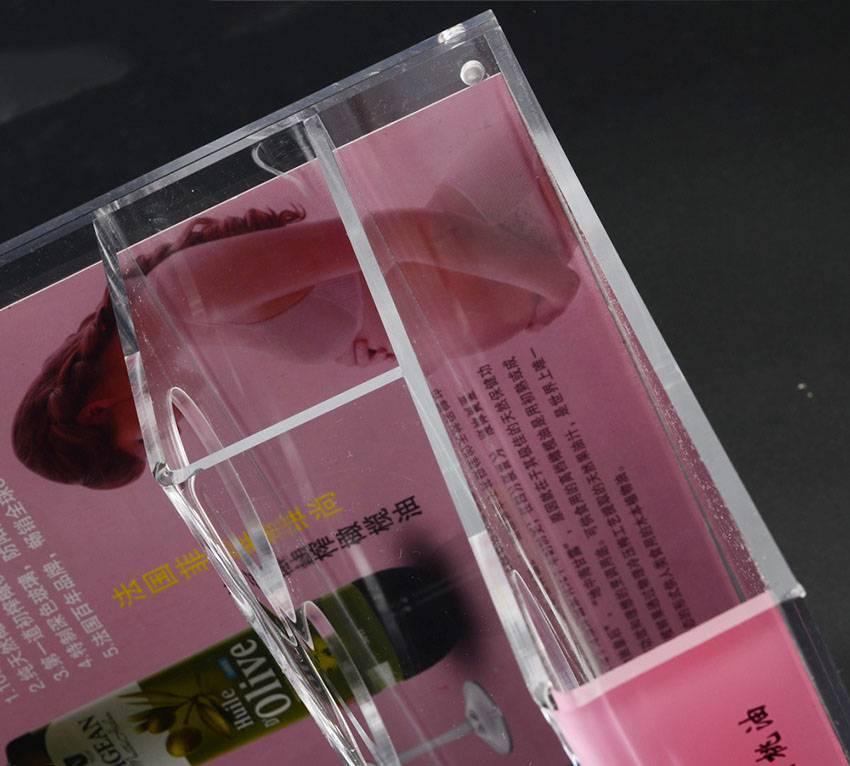 Olive Oil Bottle Acrylic Holder Rack