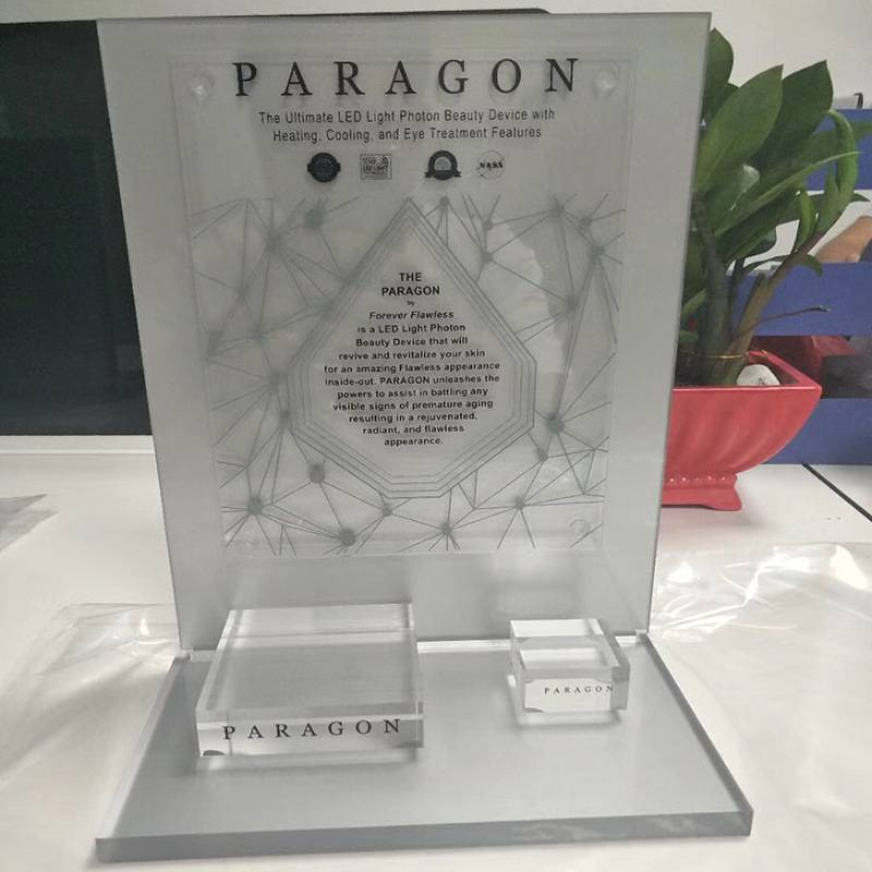 Transparent Acrylic Counter Product Display Stand