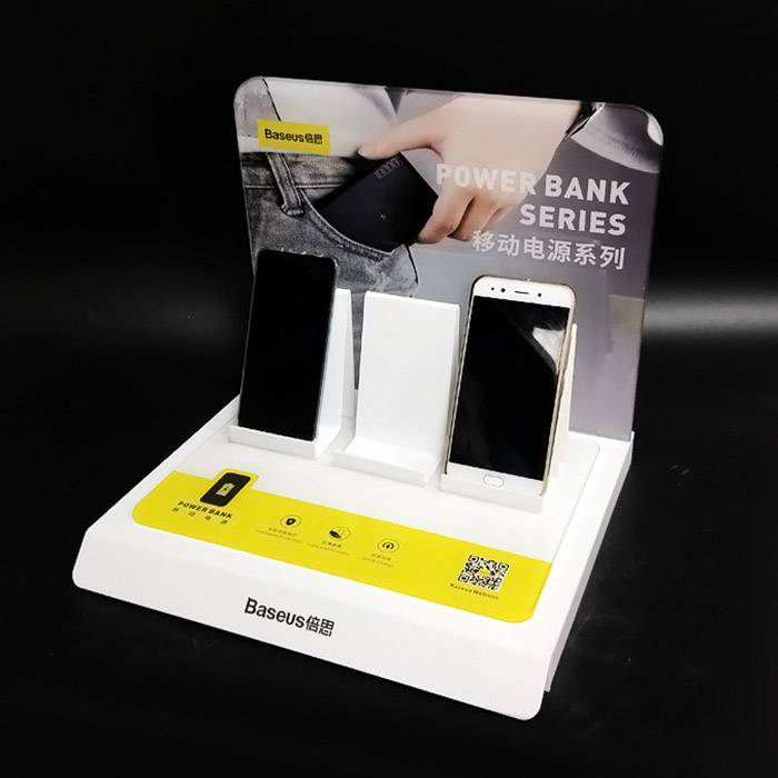 Acrylic Counter Display Stand for Power Bank