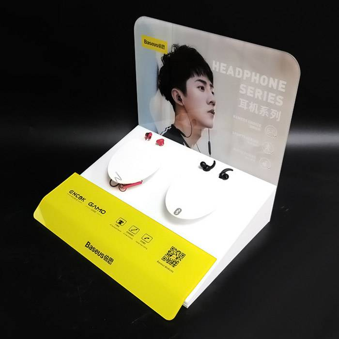 Acrylic Headphone Stand Display