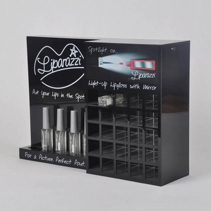 Liparazzi Lip Gloss Retail Counter Display Stand