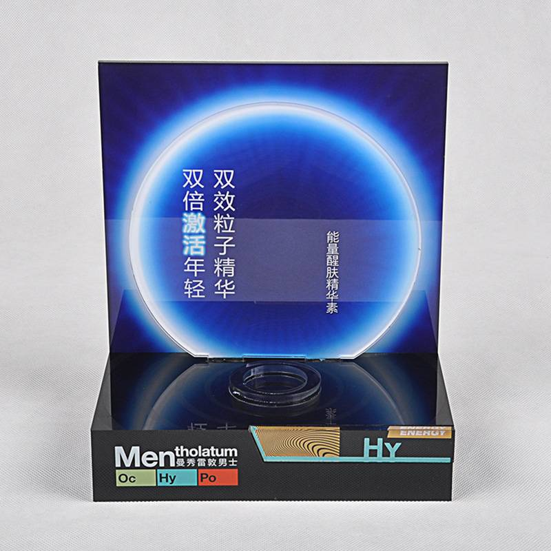Mentholatum Men HY Hydrating Face Wash Display Stand