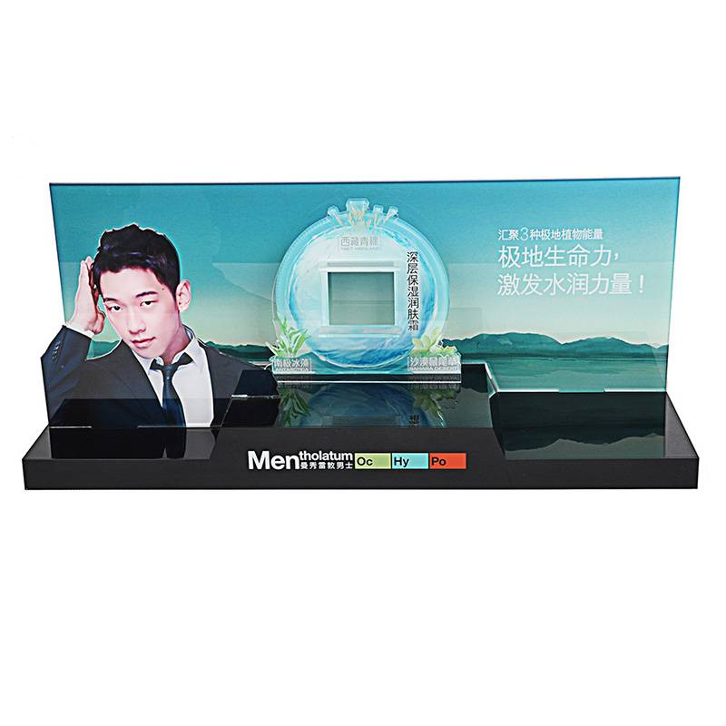 Mentholatum Retail POP Counter Display Stand