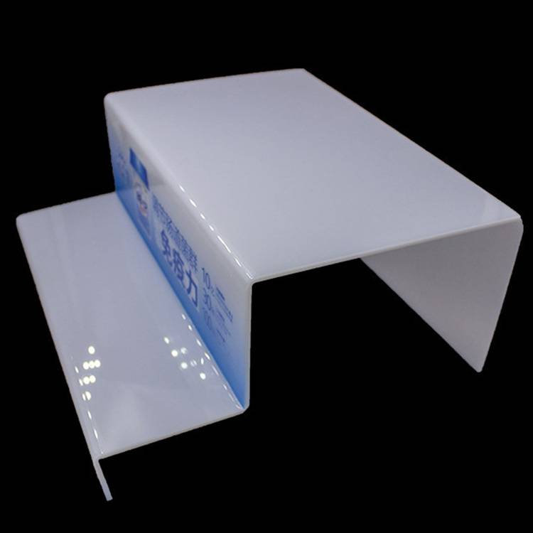2 Tier Retail Countertop Acrylic Display Riser