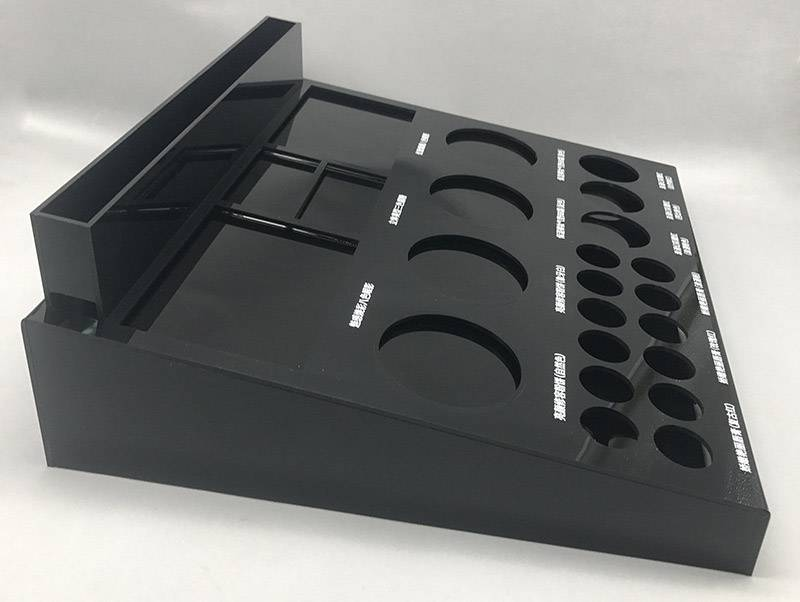 Acrylic Counter Lipstick Display Rack