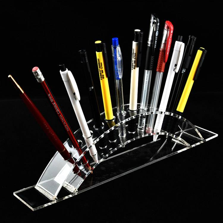 12-Slots Premium Clear Acrylic Holder For Pen