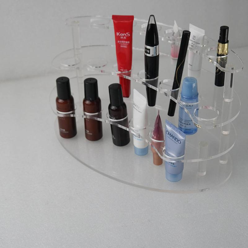 19 Sockets Clear Acrylic Test Tube Rack for 10ML Test Tubes