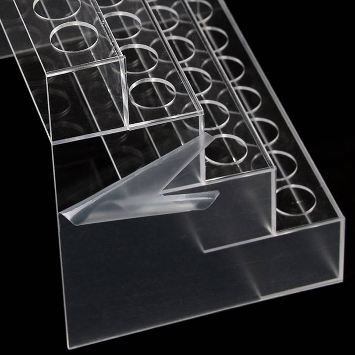 4 Tier 32 Spaces Clear Acrylic Lipstick Organizer Display Stand XH69-3