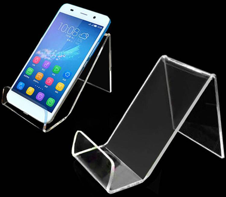Acrylic Cellphone Display Stand Holder Mobile Phone Display Stand Wholesale XH0106-2
