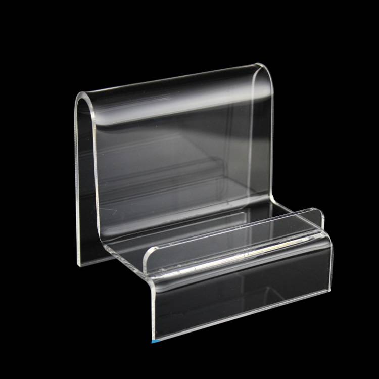 Acrylic Display Stand Wallet &Purse Stand Holder