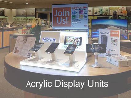 Acrylic Display Units