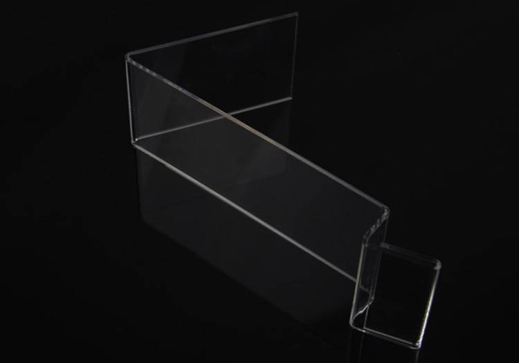 Acrylic Mobile Cell Phone Display Holder with Advertisement Label Price Tag Holder