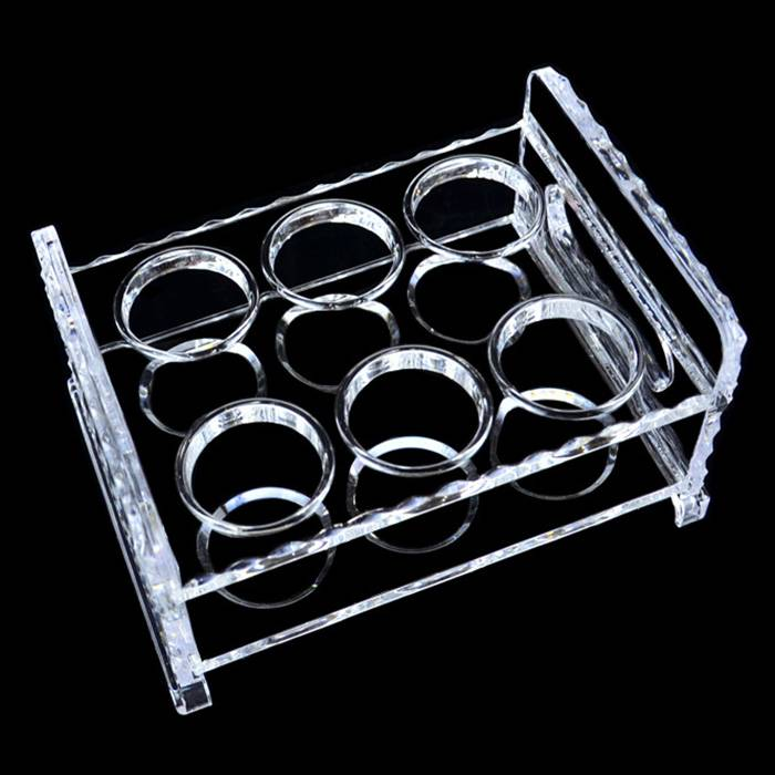 Acrylic Wine Glass Holder