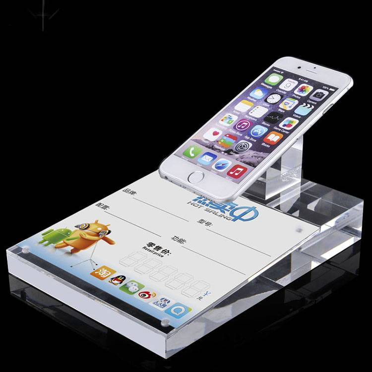 All-purpose Cell Phone Acrylic Display Stand for Retail Store Experience