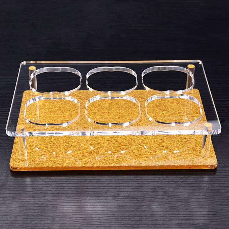 Bar Restaurant Bar KTV Acrylic Wine Cup Tray XH08-2